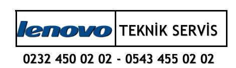 İzmir Lenovo Servisi 02324500202 – 05434550202